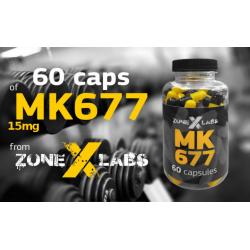 Zone-X-Labs SARM MK677 60 kaps.