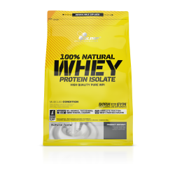 100% Natural Whey Protein Isolate 600g