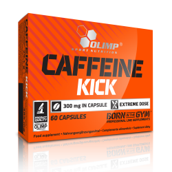 OLIMP CAFFEINE KICK 300mg 60 KAPS.