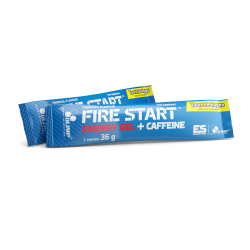OLIMP FIRE START ENERGY GEL + CAFFEINE 36G