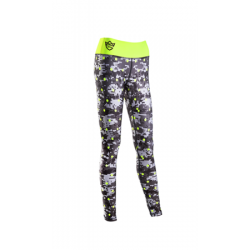 OLIMP QUEENS GANG WOMEN'S LEGGINS DIGITAL CAMO GRAY