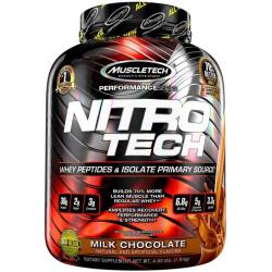 MUSCLE TECH Nitro Tech 100% Whey Gold - 2270g