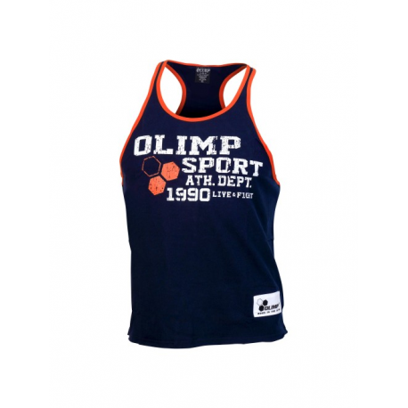OLIMP Tank Top Navy